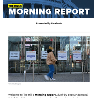 The Hill's Morning Report - Presented by Facebook - 1/ Questions swirl whether Biden backs passing relief bill with 50 votes; Experts warn US facing 'calm before the real storm' because of highly contagious COVID-19 variants. 2/ Biden: Subsidize