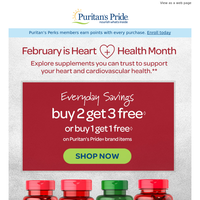 Red-hot deals on heart health