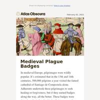 Medieval Black Death prevention methods: bawdy badges