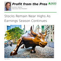 Stocks Remain Near Highs As Earnings Season Continues