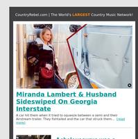 Miranda Lambert & Husband Freeway Accident