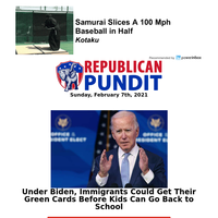 With Biden Incharge Immigrants Will Get Their Green Cards Before Kids Go Back to School...