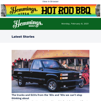 Hemmings Daily: The trucks and SUVs of the '80s and '90s we can't stop thinking about