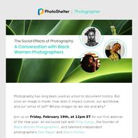 Webinar: A talk with Black Women Photographers