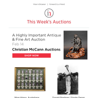 Featured Sales: Photography, Jewelry & Antiques