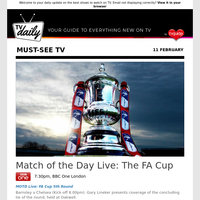 Don't miss: Match of the Day Live: The FA Cup at 7:30pm on BBC One London
