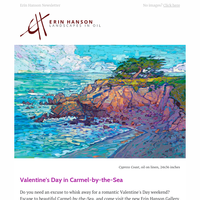 Valentine's Day in Carmel-by-the-Sea