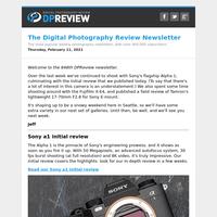 Digital Photography Review Newsletter: Thursday, February 11, 2021