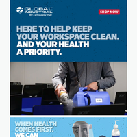Need to keep your facility clean?