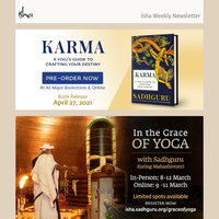 Newsletter - Pre-Order Karma: A Yogi's Guide to Crafting Your Destiny