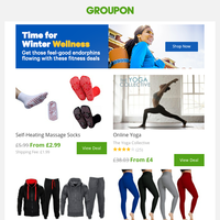 Health & Fitness deals for the new you 🏋♂