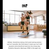 10-minute fitness break. Go!