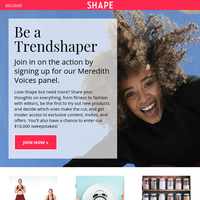 You're invited to be a Shape Trendshaper