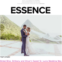 This St. Lucia wedding was STUN-NING!