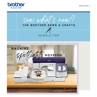 The Brother Sews & Crafts Newsletter - February