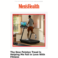 The New Peloton Tread Is Helping Me Fall in Love With Fitness