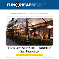 2,000+ Parklets in SF | Drop-in Vaccines | Uniqlo Closing