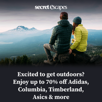 Get active outdoors with top brands 🚵
