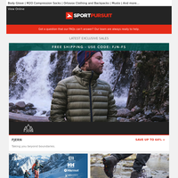 Fjern | Top Ski Brands | Waterproof Footwear | WithU Training Fitness Subscription | Cycling Jackets & Gilets | Up to 71% Off!