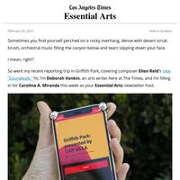 Essential Arts: A moving Griffith Park 'Soundwalk'