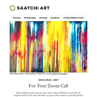Curated Art for Your Video Conference Call