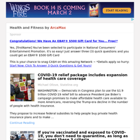 Health and Fitness for Sunday February 21, 2021