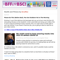 Health and Fitness for Tuesday February 23, 2021