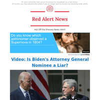 🚨 Video: Biden's Attorney General Nominee and Illegal Aliens