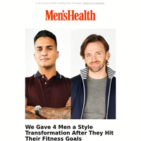 We Gave 4 Men a Style Transformation After They Hit Their Fitness Goals