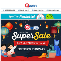 Up to 70% OFF this Super Sale! Find all your favourite Beauty, Fashion and Baby products here! SHOP NOW!