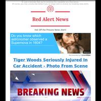 🚨 ALERT: Tiger Woods Seriously Injured
