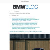 Posts from BMWBLOG for 02/24/2021