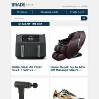60% Off Massage Chairs | $29 Percussion Massager | $30 JBL Earphones | $18 8pk Sunglasses | BOGO Carter's Swim & More