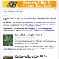 Cannabis Daily for Wednesday February 24, 2021
