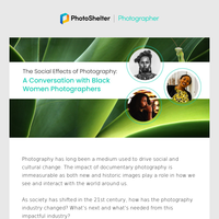[WEBINAR RECORDING]  The Social Effects of Photography with Black Women Photographers