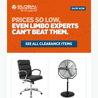 More than 3K products on clearance