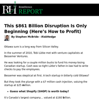 This $861 Billion Disruption Is Only Beginning (Here's How to Profit)