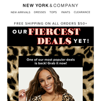Fierce Fashions at Wild Prices