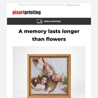 Give a canvas print this Mother's Day