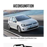 8 Best Affordable Used Electric Cars