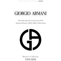 All of the details of the Giorgio Armani Fashion Shows