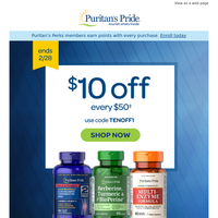 {NAME}, here's a $10 coupon