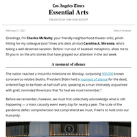 Essential Arts: Who will heal the artists?
