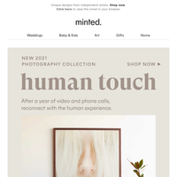 NEW Photography Micro-Collection: Human Touch