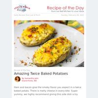 Amazing Twice Baked Potatoes