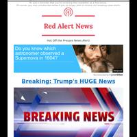 🚨 ALERT: Trump's HUGE News Is Breaking Now