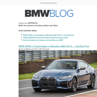 Posts from BMWBLOG for 02/28/2021