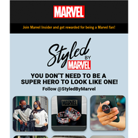 Check Out The Latest Marvel Fashion And Accessories From @StyledByMarvel