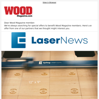 Elevate Woodworking Projects with Epilog Laser!