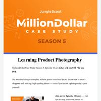 [Million Dollar Case Study] Ep. 10: Product Photography for Amazon